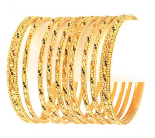 GOLD-BRIDAL-BANGLES-DESIGN 2