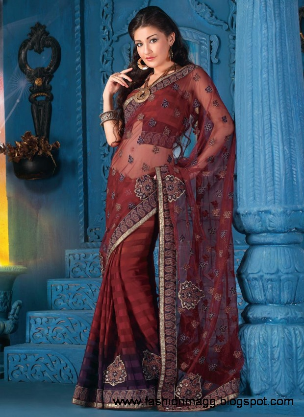 Fashion Fok Uk Fashion Spring Summer Outfit 2015 For: Fashion & Fok: Saree Design New Latest Trend Indian