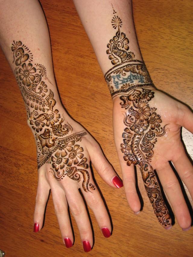 Fashion & Fok: Eid Mehndi Design-Simple Mehndi-Henna ...