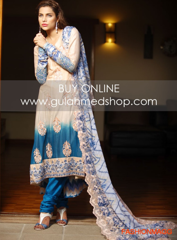 Gul-Ahmed-Eid-Lawn-Dresses-2012-13-Anarkali-style-umbrella-fancy-Frocks-