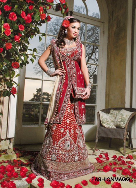 indian style wedding dress | Wedding