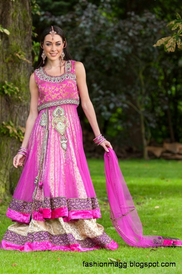 Anarkali-Frocks-in-Double-Shirts-Style-Double-Shirt-Dresses-2012-13-4