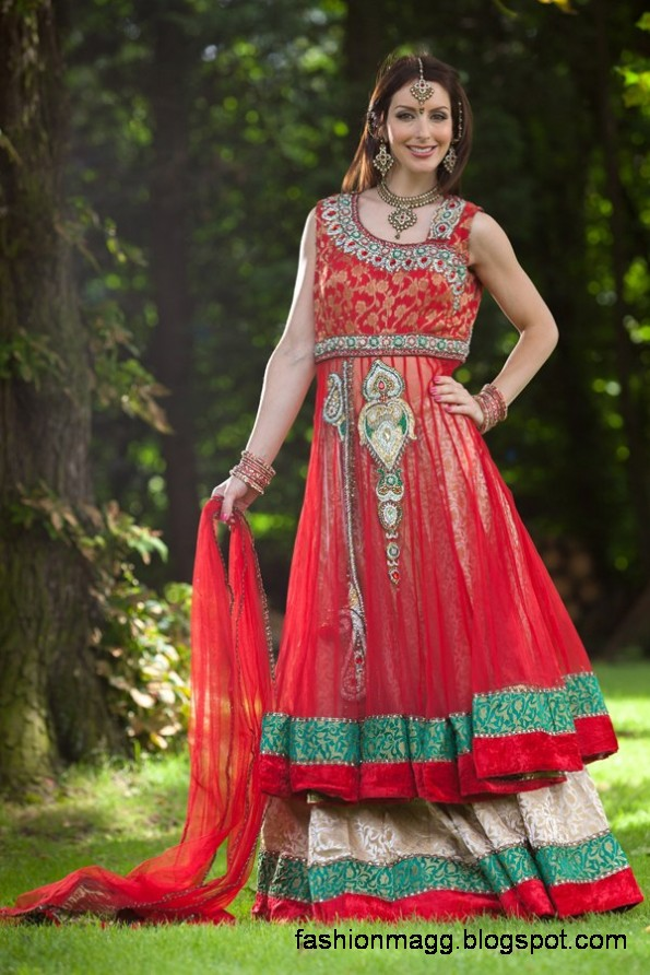 Anarkali-Frocks-in-Double-Shirts-Style-Double-Shirt-Dresses-2012-13-6