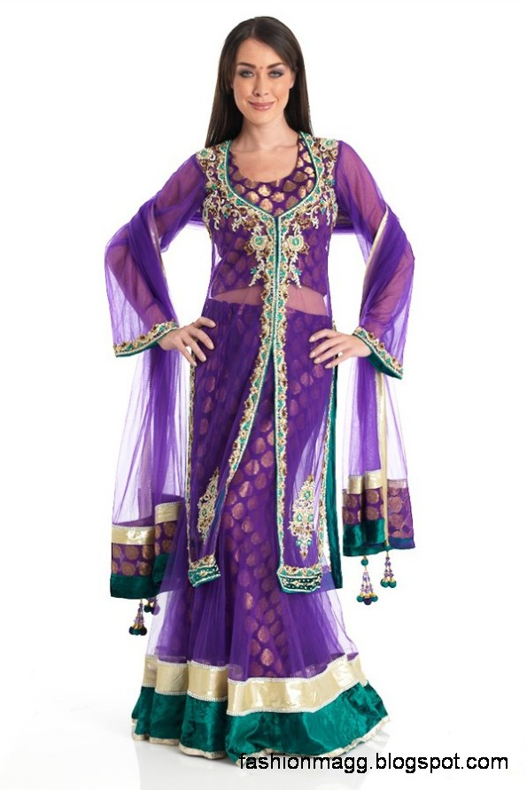 Anarkali-Frocks-in-Double-Shirts-Style-Double-Shirt-Dresses-2012-13-7