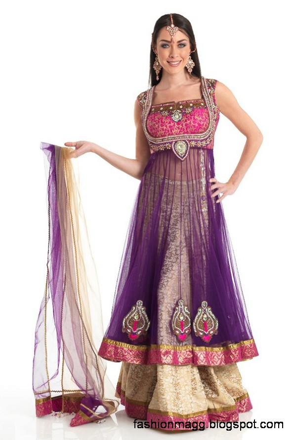 Anarkali-Frocks-in-Double-Shirts-Style-Double-Shirt-Dresses-2012-13-8