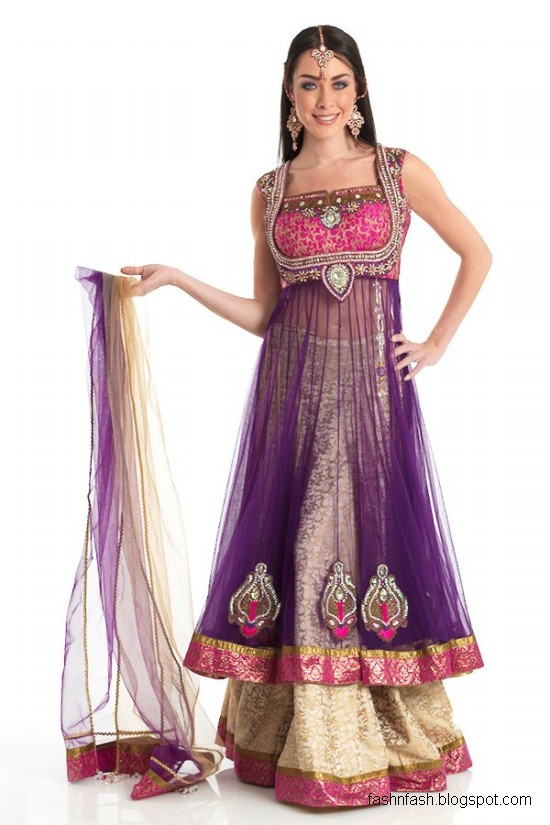 Anarkali-Frocks-in-Double-Shirts-Style-Double-Shirt-Dresses-2012-2013-8