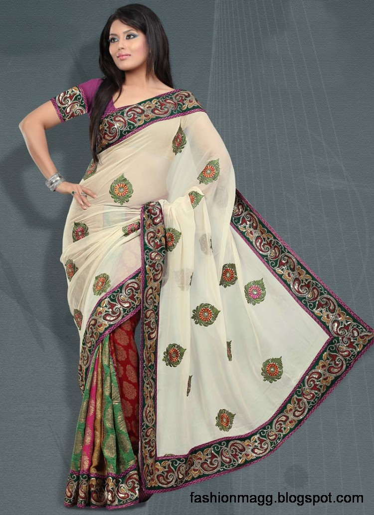 Indian-Pakistani-Saree-Banarasi-Saree-Lehenga-Designs-2012-13-8