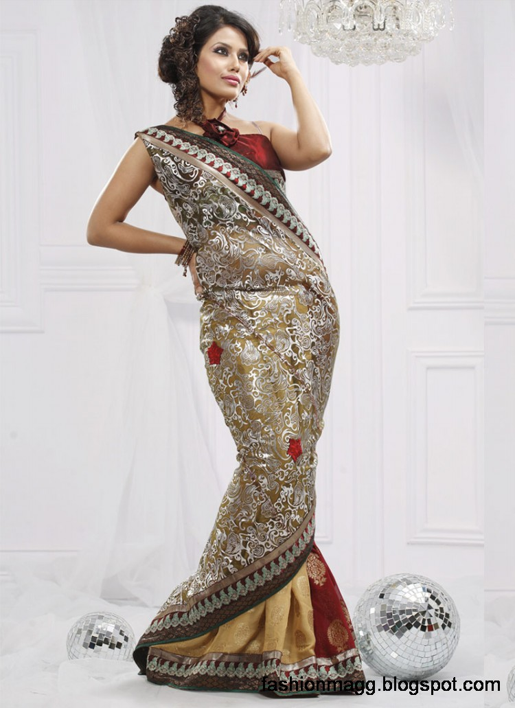 Indian-Pakistani-Saree-Banarasi-Saree-Lehenga-Designs-2012-13-9