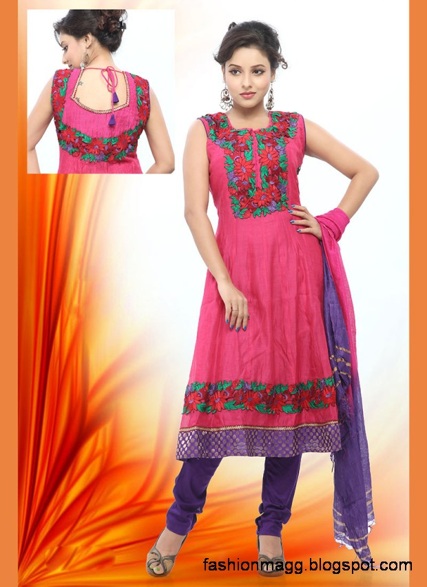 Anarkali-Indian-Pakistani-Party-Wear-Cotton-Shalwar-Kamiz-Suit-2012-2013-