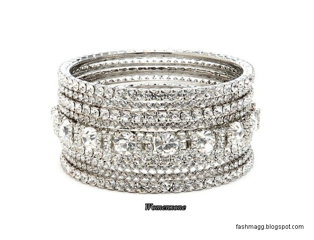 diamond-bridal-bangles-design-pics-silver-diamond-bangles-pictures-pakistani-indian-valima-silver-bracelet-bangles-1