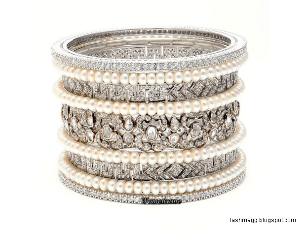 diamond-bridal-bangles-design-pics-silver-diamond-bangles-pictures-pakistani-indian-valima-silver-bracelet-bangles-2