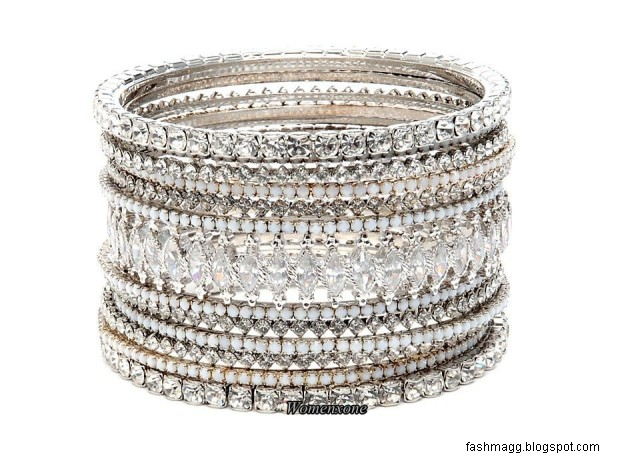 diamond-bridal-bangles-design-pics-silver-diamond-bangles-pictures-pakistani-indian-valima-silver-bracelet-bangles-4