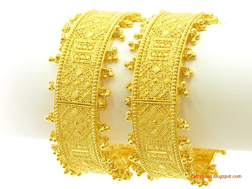 gold-bracelets-bangles-design-pics-gold-diamond-bangles-kangan-design-pictures-gold-bridal-indian-pakistani-bangles-designs-4