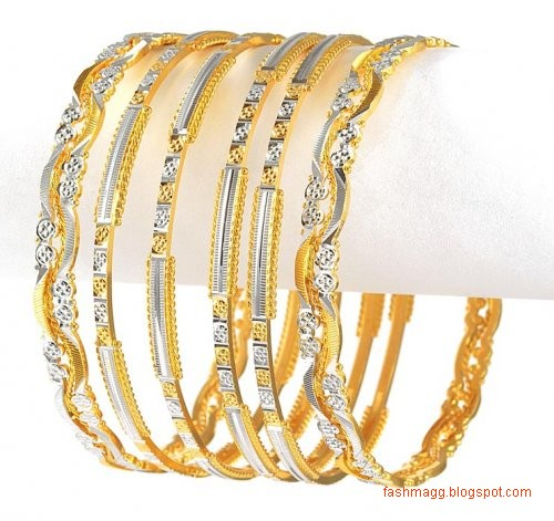 gold-bracelets-bangles-design-pics-gold-diamond-bangles-kangan-design-pictures-gold-bridal-indian-pakistani-bangles-designs-5