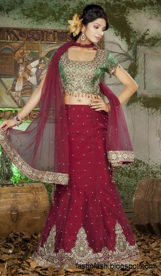 Indian-Pakistani-Beautiful-Bridal-wedding-Dress-Collection-2012-2013-Bridal-Saree-Lehanga-6