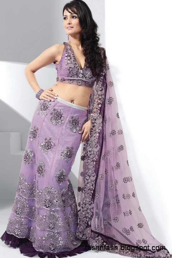 Indian-Pakistani-Beautiful-Bridal-wedding-Dress-Collection-2012-2013-Bridal-Saree-Lehanga-7