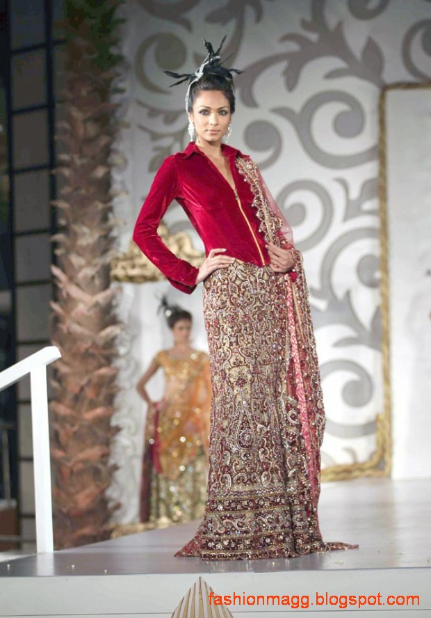 Indian-Pakistani-Bridal-Wedding-Dress-Bridal-Couture-fashion-Show-on-Ramp-0