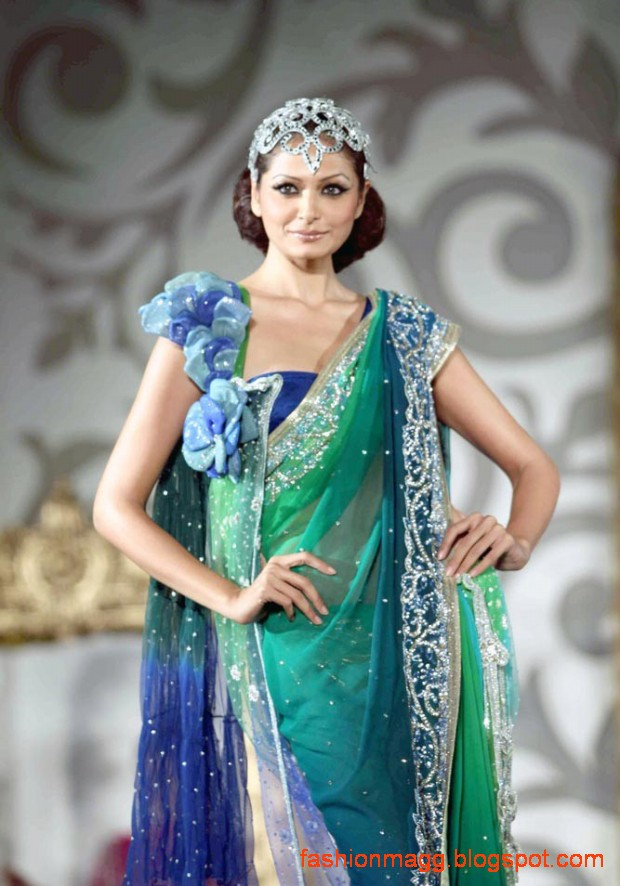 Indian-Pakistani-Bridal-Wedding-Dress-Bridal-Couture-fashion-Show-on-Ramp-10