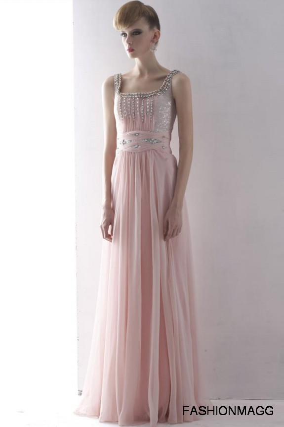 Western Gown Dress for Bridal-Wedding Night Parties Wears-Bri8
