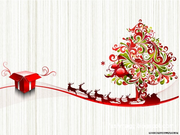 fashion style beautiful christmas greeting e cards