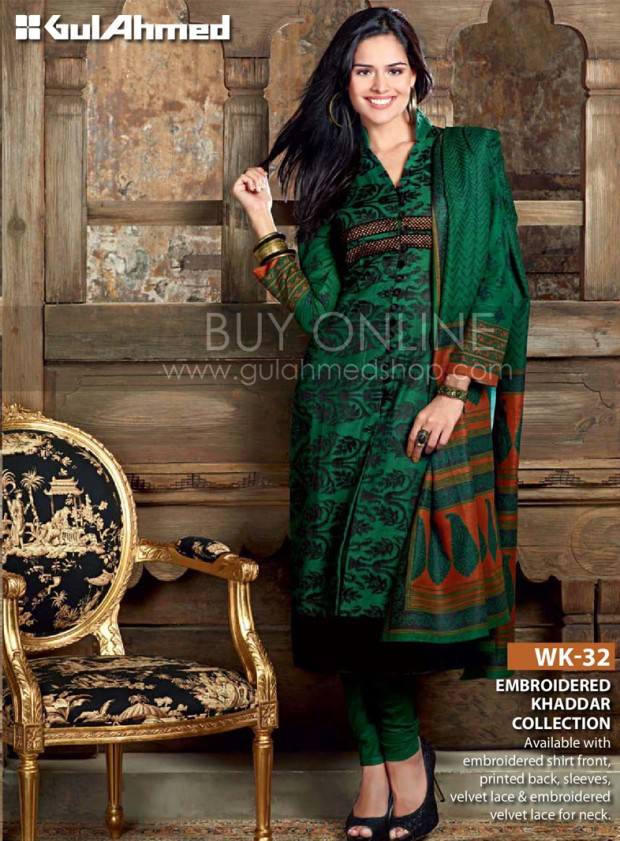 Gul-Ahmed-Winter-Dress-Designs-Collection-2012-13-Gul-Ahmed-Clothes-Fashion-Idea-Gul-Ahmed-4