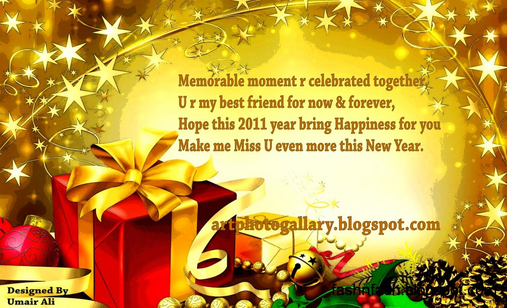Happy New Year Greeting Cards Pics-Images-New Year E-Cards Photos-Wallpapers7