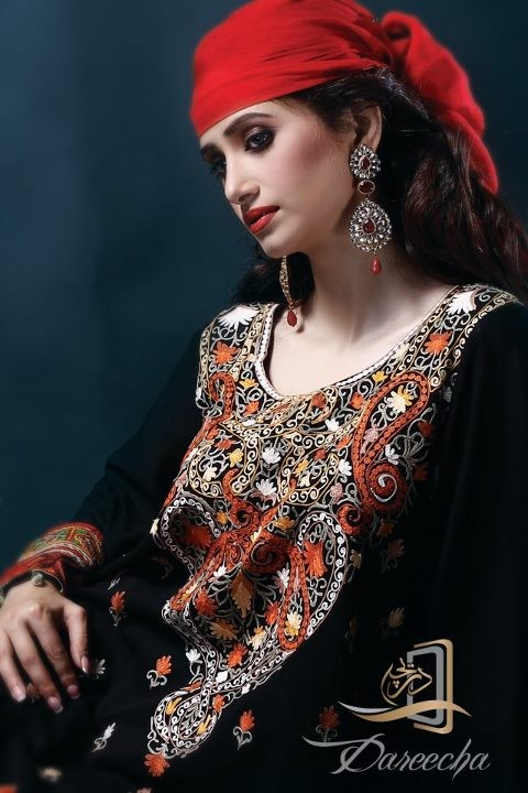 New-Neckline-Dress-Designs-by-Dareecha-Embroidered-Kashmiri-Winter-Dress-Collection-2013-1