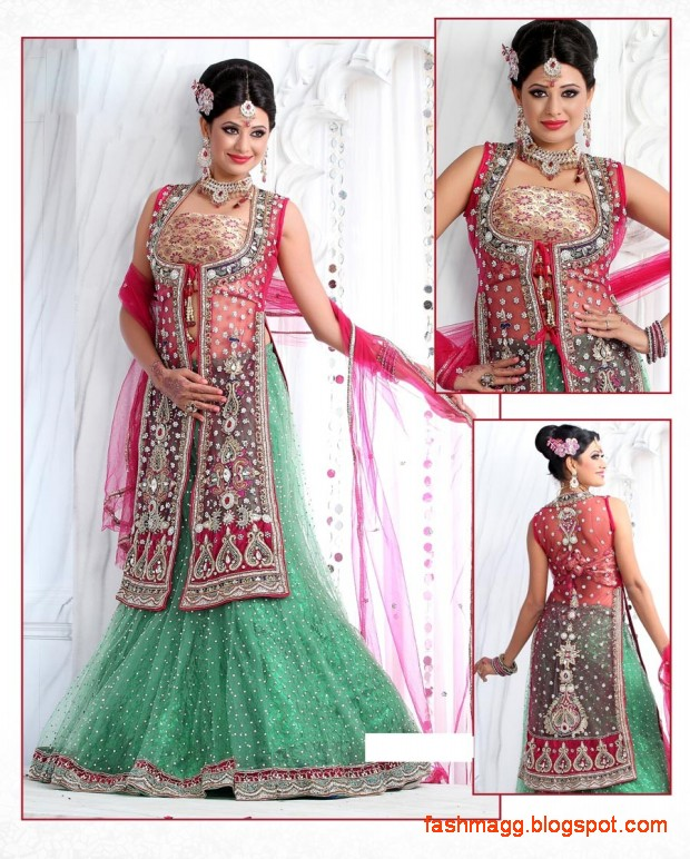 Bridal-Brides-Wedding-Dress-Beautiful-Indian-Bridal-Valima-Lehanga-Choli-Collection-4