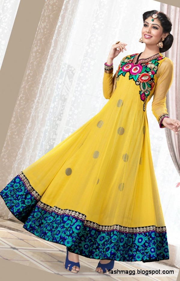 Indian-Anarkali-Umbrella-Frocks-Anarkali-Fancy-Winter-Frock-New-Latest-Fashion-Clothes-Dress-4