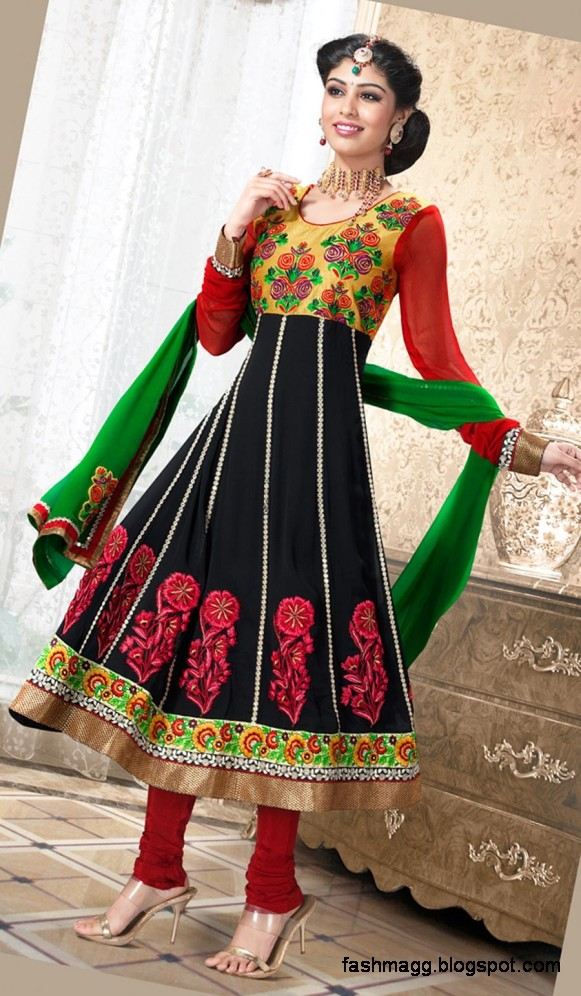 Anarkali Indian Umbrella Frocks-Anarkali Fancy Frock New Latest ...
