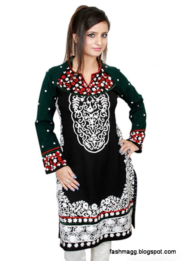 Indian-Kurti-New-Winter-Dress-Collection-Girls-Womens-Ladies-Models-Latest-Kurta-Designs-2013-3