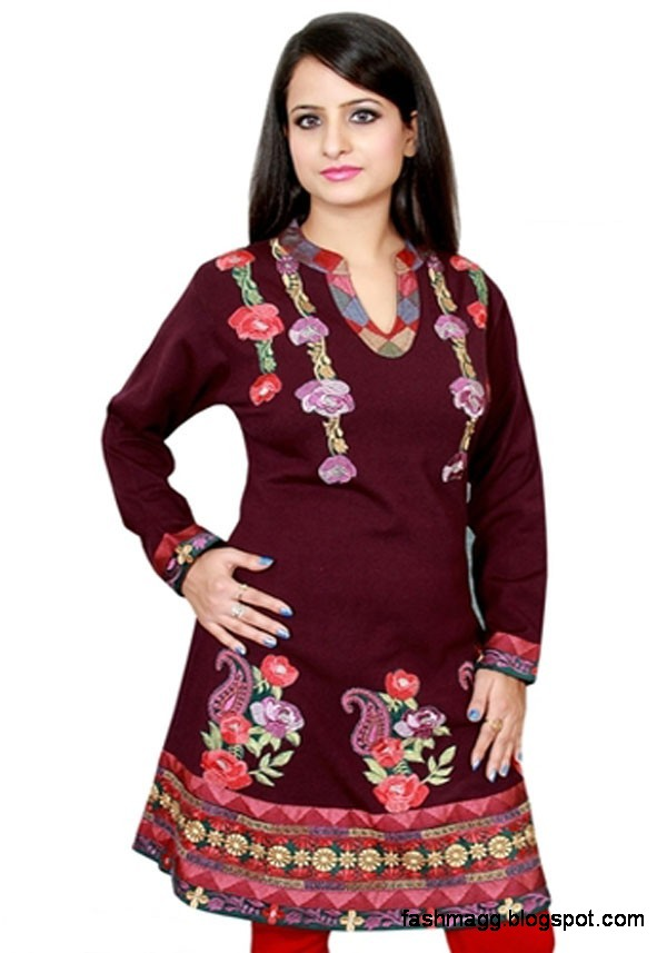 Indian-Kurti-New-Winter-Dress-Collection-Girls-Womens-Ladies-Models-Latest-Kurta-Designs-2013-4