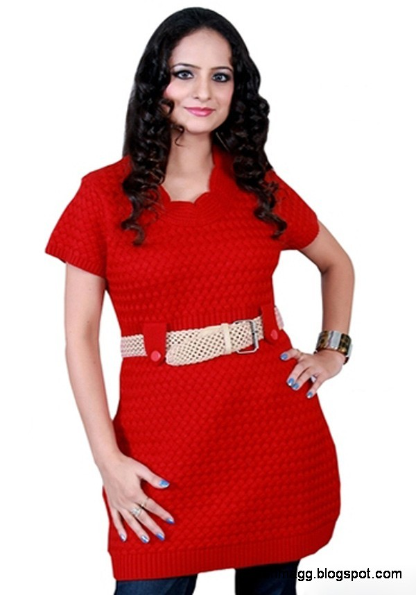 Indian-Kurti-New-Winter-Dress-Collection-Girls-Womens-Ladies-Models-Latest-Kurta-Designs-2013-9