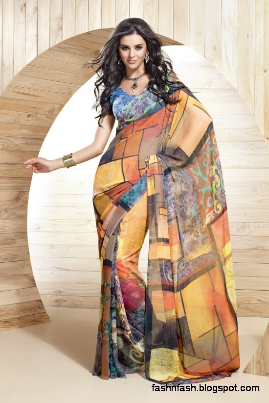 Indian-Printed-Saree-Design-Beautiful-New-Latest-Girls-Womens-Saree-Images-Photos-6