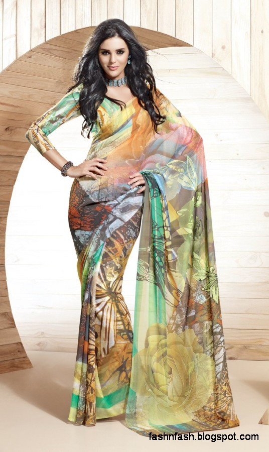 Indian-Printed-Saree-Design-Beautiful-New-Latest-Girls-Womens-Saree-Images-Photos-8