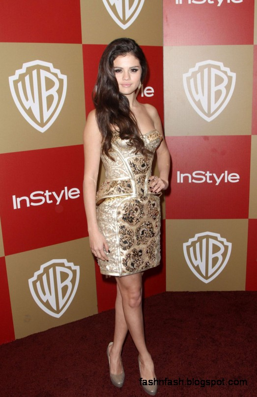 Selena-Gomez-at-Warner-Bros-InStyle-Golden-Globes-Party-in-Beverly-Hills-Pictures-Photoshoot-1