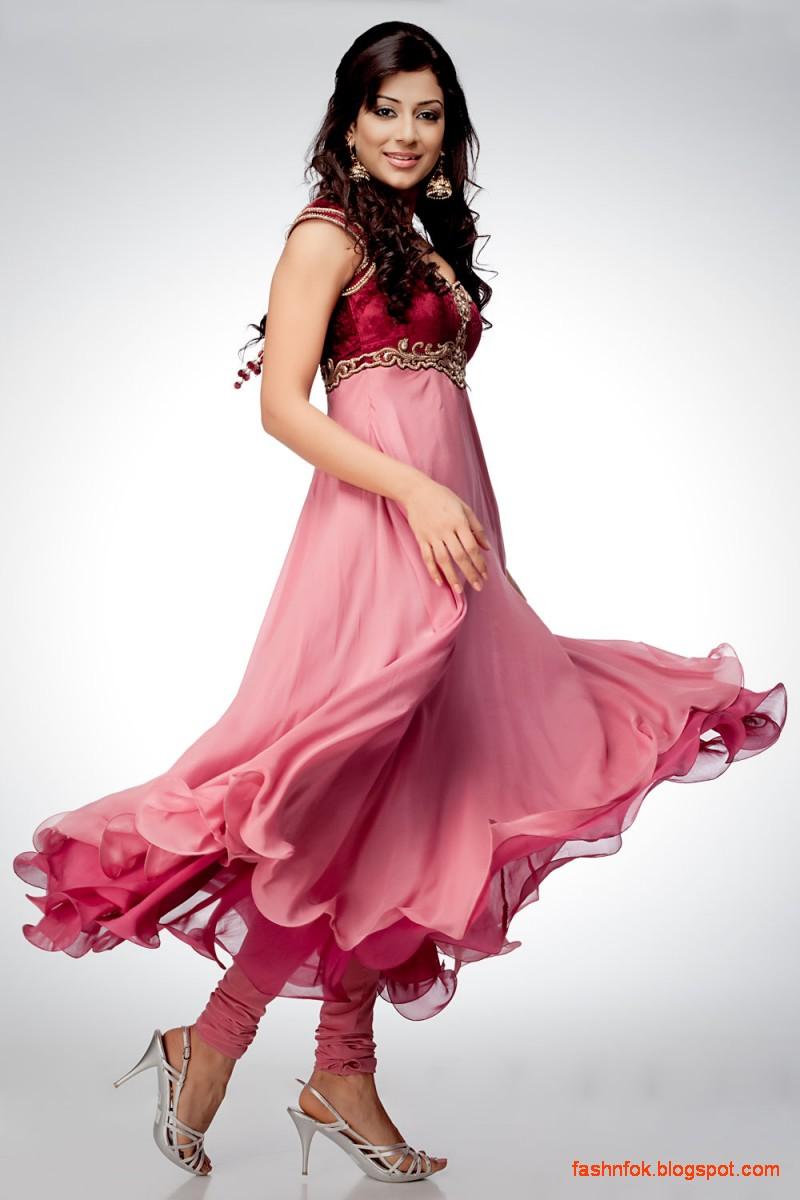 Latest Design Ladies: Fashion & Fok: Anarkali Indian Umbrella Fancy Frocks