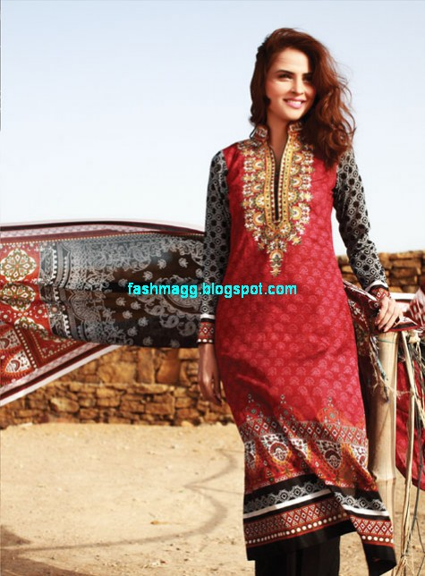 Al-Karam-Textile-Summer-Spring-Lawn-Collection-2013-14-Indian-Pakistani-New-Fashionable-Clothes-12
