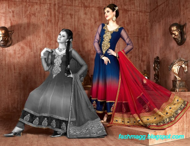 Anarkali-Fancy-Bridal-Wedding-Wear-Frocks-Dress-New-Fashionable-Clothes-Designs-Collection-2013-5