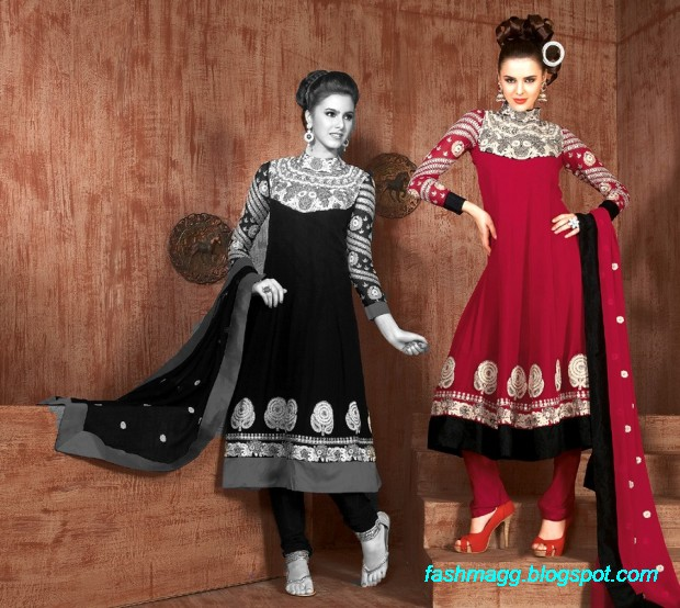 Anarkali-Fancy-Bridal-Wedding-Wear-Frocks-Dress-New-Fashionable-Clothes-Designs-Collection-2013-8