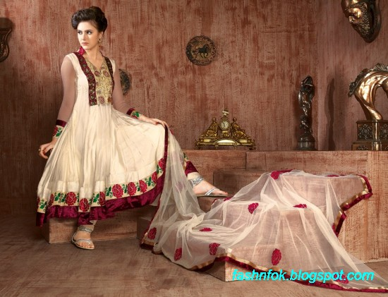 Anarkali-Fancy-Bridal-Wedding-Wear-Frocks-Dress-New-Fashionable-Designs-Collection-4