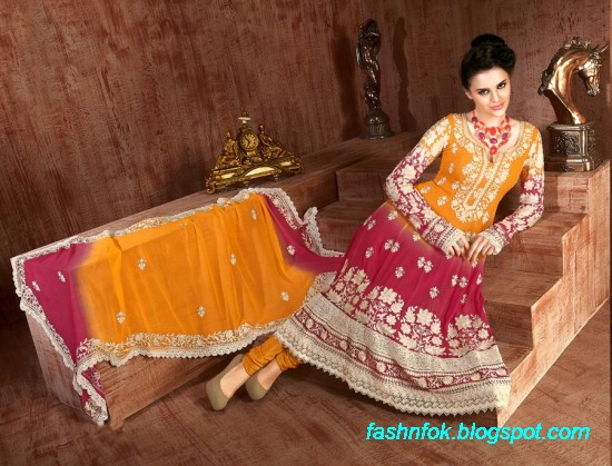 Anarkali-Fancy-Bridal-Wedding-Wear-Frocks-Dress-New-Fashionable-Designs-Collection-5