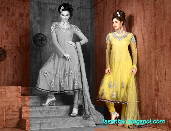 Anarkali-Fancy-Bridal-Wedding-Wear-Frocks-Dress-New-Fashionable-Designs-Collection-7