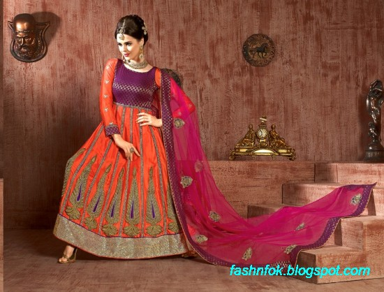 Anarkali-Fancy-Bridal-Wedding-Wear-Frocks-Dress-New-Fashionable-Designs-Collection-8