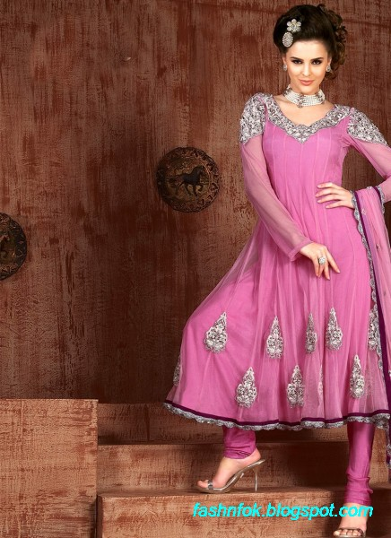 Anarkali-Fancy-Bridal-Wedding-Wear-Frocks-Dress-New-Fashionable-Designs-Collection-9
