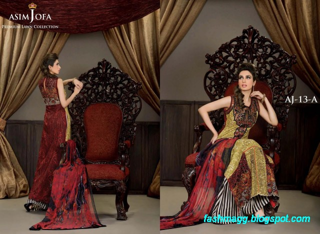 Asim-Jofa-Amazing-Printed-Premium-Lawn-Collection-2013-New-Fashionable-Clothes-Designs-7