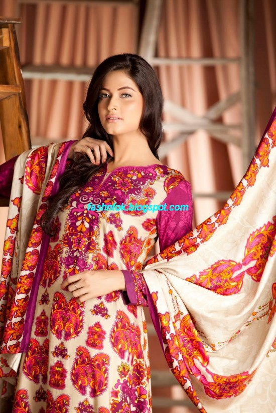 Firdous-Spring-Summer-Lawn-Collection-2013-Firdous-ZTM-Chilman-Regular-Fashionable-Lawn-Prints-
