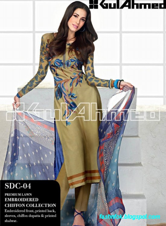 Gul-Ahmed-Lawn-Summer-Spring-New-Fashion-Dress-Designs-Collection-2013-12
