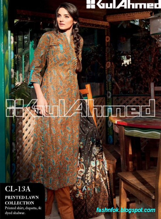 Gul-Ahmed-Lawn-Summer-Spring-New-Fashion-Dress-Designs-Collection-2013-13