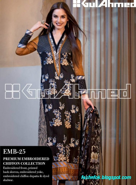 Gul-Ahmed-Lawn-Summer-Spring-New-Fashion-Dress-Designs-Collection-2013-3